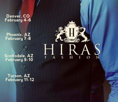 Back on tour in Denver, Phoenix, Scottsdale, Tucson Feb. 4-12 www.hiras.com