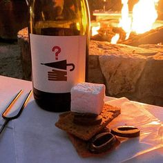 We're experiencing some cozy #winter feels. (Photo courtesy of @sidecar_tony) #sonoma #smores