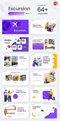 Excursion - Travel PowerPoint Presentation Template