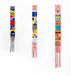 Creative Fabric, Hannah, Waldron, and Pattern image ideas & inspiration on Designspiration Textiles, Textile Patterns, Textile Design, Textile Art, Tapestry Weaving, Fabric Art, Fiber Art, Crafty, Inspiration