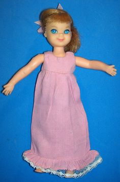 Vintage Tutti Doll Night Night Sleep Tight 3553 1965 Barbie's Tiny Sister | eBay