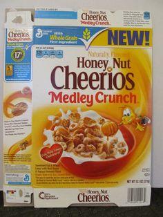 Honey Nut Cheerios, Medley Crunch