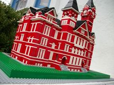 Samford Hall in LEGOs created by Auburn native and LEGO luminary, Eric Harshbarger in 2011.