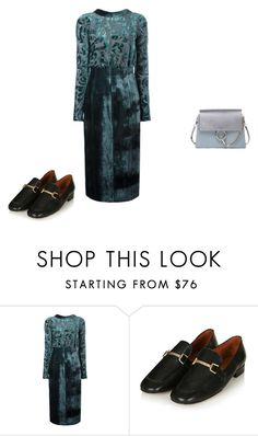 """""""Untitled #6964"""" by explorer-14576312872 ❤ liked on Polyvore featuring Lanvin, Topshop and Chloé"""
