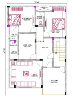 House Layout Plans, New House Plans, House Layouts, House Floor Plans, Home Design Floor Plans, Plan Design, Discovery, Architecture Design, Engineering