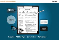 80% OFF SALE  Professional Resume Template  CV by ResumeEnhancer