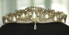 The Mellerio Shell Tiara of Queen Sofia of Spain