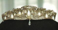 The Mellerio Shell Tiara of Queen Sofia of Spain