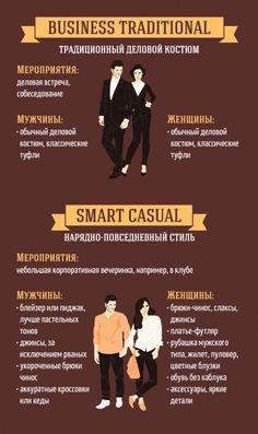 Основные правила дресс-кода: фото-руководство
