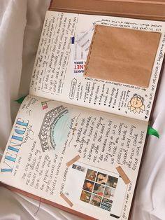 Travel Journal Scrapbook, Bullet Journal Travel, Travel Journal Pages, Bullet Journal Notes, Bullet Journal Ideas Pages, Roadtrip Journal, Travel Packing, Travel Tips, Europe Packing