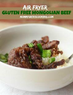 Air Fryer Gluten Free Mongolian Beef #AirFryer #GlutenFree
