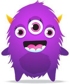 Fuentes' English Corner : Choose your favourite Avatar_Class Dojo Monsters Inc, Dojo Monsters, Cute Monsters, Little Monsters, Monster 1st Birthdays, Monster Birthday Parties, Monster Party, Felt Monster, Class Dojo