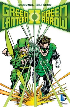 Green Arrow and Green Lantern by Neal Adams *