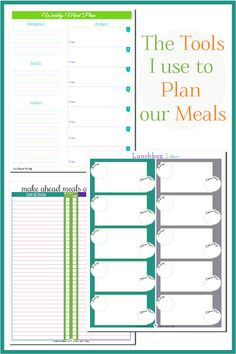 the tools i use to plan our meals scattered squirrel freezer meals make ahead