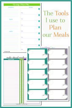 118 Best Meal Planning Grocery List Printables Images Calendar