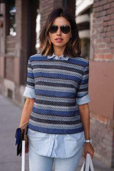 VivaLuxury - Fashion Blog by Annabelle Fleur: INTO THE BLUE