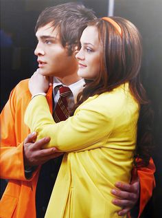 They would make beautiful children. like that one in the finale!        Vote for Chuck and Blair here. Last day of voting is on the 15th so please vote everyday until then if you can. We have two more voting parties. The next one is on the 12th, 4pm EST/9pm GMT. We'll be re-watching 2x12 & 2x13. This is the last thing we can do as a fandom! If you want to know the fastest possible way to vote, PM me. Let's prove to the world we're a force to be reckoned with. ;)