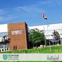 Located in a safe and secure setting Durham College Oshawa offers the best education and fun and rewarding student experience. For assistance with admission enrol here: http://www.careerabroad.ca/apply-online/