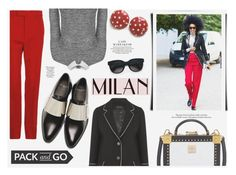 """Pack and Go- Milan"" by katarina-blagojevic ❤ liked on Polyvore featuring мода, Gucci, Topshop, Givenchy, MCM, Balenciaga, women's clothing, women, female и woman"