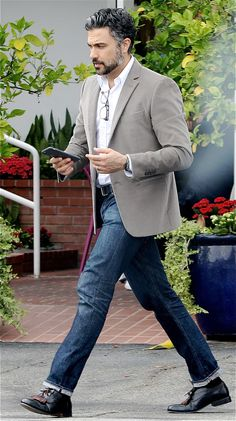 Jaime Camil out in Los Angeles