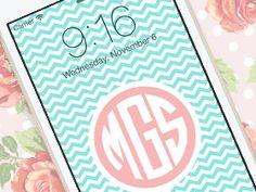 Monogram Maker App For Beautiful Custom Wallpapers On Your iOS Device  - http://crazymikesapps.com/monogram-maker-iphone-app-review/?Pinterest