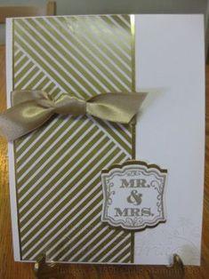 One Sheet Wonder Technique; Gold Soiree Specialty Designer Series Paper; Gold Foil Sheets; Gold Satin Ribbon; Label Love Stamp Set