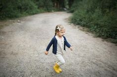 Tank romper in 'dash dot' // cardigan and hunters!  #childhoodsclothing