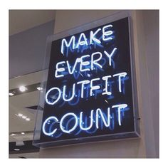 Life motto.