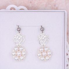 Svatební perlové náušnice - svatba 2021