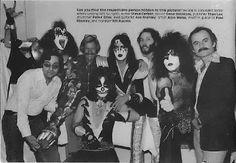 Photo from 1977 - Marvel Comics & KISS. Stan Lee KISS #comics #music