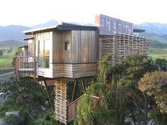 Hapuku treehouses, Kaikoura