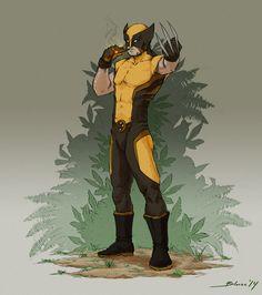 Wolverine by ChuchuaN.deviantart.com on @DeviantArt