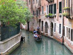 Romantici canali a Venezia...