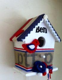 Postbag house made for baby Ben