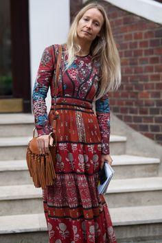 London Fashion Week Street Style - September 21 2015 - RTW Spring Summer 2016