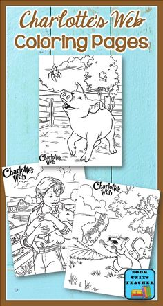Free Coloring Pages for Charlotte's Web