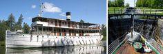 Göta Kanal   Lilla Kanalresan Fleet Of Ships, 19th Century, Restoration, Adventure, Adventure Movies, Adventure Books