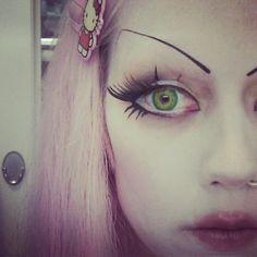 Adora BatBrat Adora Batbrat, Punk Princess, Love Her Style, Alternative Fashion, Goth Girls, Makeup Inspiration, Face, Model, Beautiful