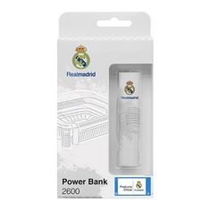 If you're passionate about IT and electronics, like being up to date on technology and don't miss even the slightest details, buy Power Bank Real Madrid C. 2600 mAh White at an unbeatable price.