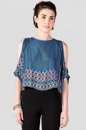 Jamie Cold Shoulder Blouse