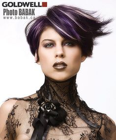 Goldwell.....LOVE this look!