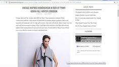 #Article about the #brand #RIEN by Penny Vomva @the best #fashion #blog