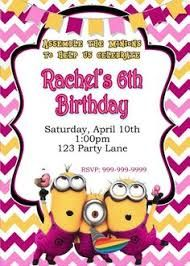 Image result for Minion invitations for three