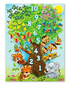 Counting Tree 36-Piece Puzzle by Springbok Puzzles