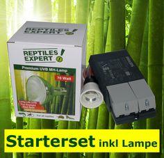 Jetzt kaufen: UVB Komplettset EVG inklusive UV Lampe nach Wahl um nur 99,9 EUR!  Philips Multiwatt EVG mit jeder UV-Lampe zwischen 35 und 70 Watt. Bestpreisgarantie Starter Set, Life