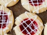 Raspberry Almond Shortbread Thumbprint Cookies | Cooking Classy