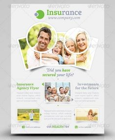 100 awesome flier or flyer templates xdesigns Life Insurance Quotes, Life Insurance Companies, Best Insurance, Insurance Agency, Health Insurance, Healthcare Quotes, Flyer Printing, Company Brochure, Health Lessons