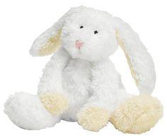 $12.99 Manhattan Toy Cozies White Bunny - Free Shipping