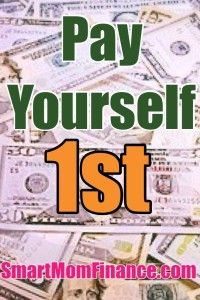 PayYourself First!! Important tips on how to put money in your own savings and Pay Yourself before paying bill collectors!