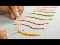 10 weirdest hand embroidery stitches for beginners 10 strangest hand embroidery. 10 weirdest hand embroidery stitches for beginners 10 strangest hand embroidery stitches for begin Hand Embroidery Videos, Embroidery Stitches Tutorial, Hand Embroidery Flowers, Flower Embroidery Designs, Learn Embroidery, Hand Embroidery Patterns, Embroidery Techniques, Embroidery Art, Cross Stitch Embroidery